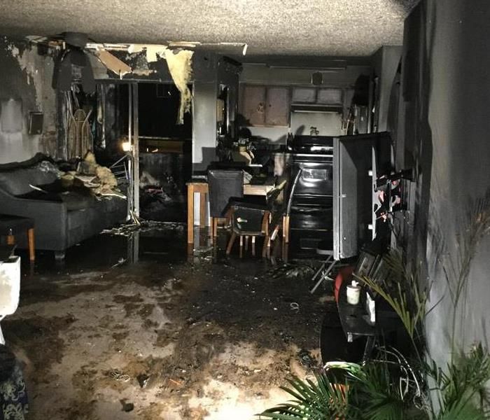 Fire Damage Encino/Sherman Oaks Smoke and Soot Cleanup